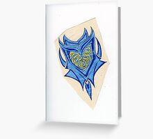 Holey Heart Greeting Card