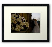 Wedding Buds Framed Print