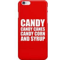 The Four Main Food Groups - Elf iPhone Case/Skin