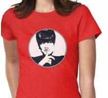 Sssh Womens Fitted T-Shirt