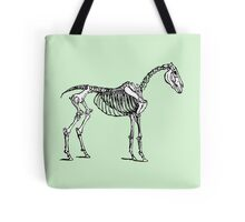 Skeleton Horse Tote Bag