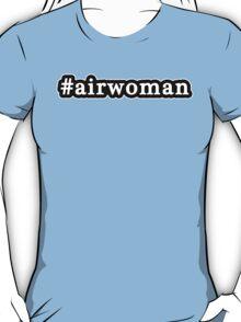 Airwoman - Hashtag - Black & White T-Shirt
