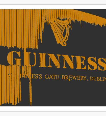 guinness beer brewery in dublin, ireland  Sticker