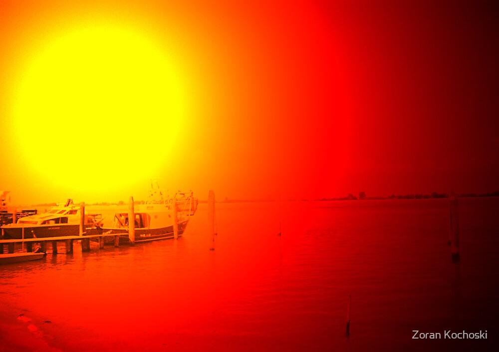 The sun by Zoran Kochoski