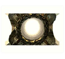 WWII Memorial Wreath Art Print
