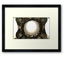 WWII Memorial Wreath Framed Print