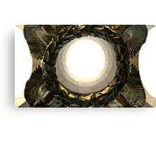 WWII Memorial Wreath Canvas Print