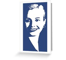 EVITA PERON Greeting Card