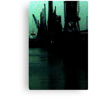 Quayside Canvas Print