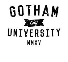 Gotham City University Photographic Print