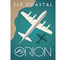 P3 Orion - Fly Coastal Photographic Print