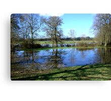 Bartley Water (1) Canvas Print