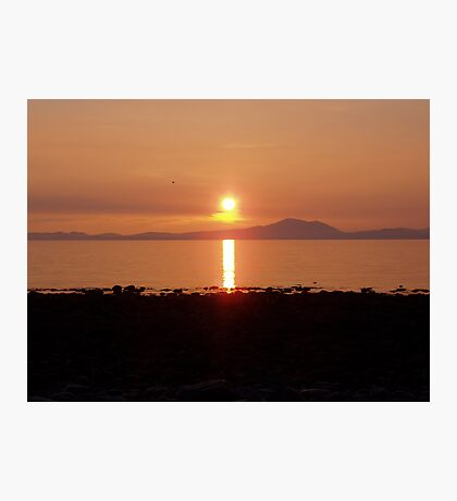 sunset west wales Photographic Print
