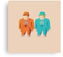 Harry & Lloyd Canvas Print