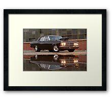 Black Ford ZB Framed Print