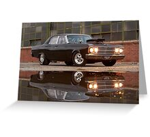 Black Ford ZB Greeting Card