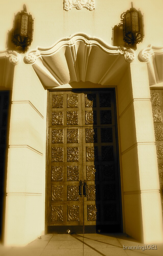 San Francisco Church Door by branning1021