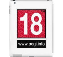 Pegi 18 - under over eighteen iPad Case/Skin