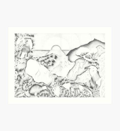 Papatuanuku - Earth Mother Art Print