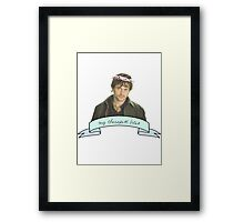 Will Graham's therapist really.......... bites Framed Print