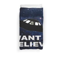 I Want to Believe 2014 V1 ( Duvets ) Duvet Cover