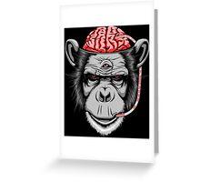 Inner Dialogue Grey Greeting Card