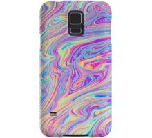 Psychedelic colourful background Samsung Galaxy Case/Skin