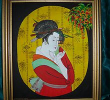 Golden Geisha by nt2007