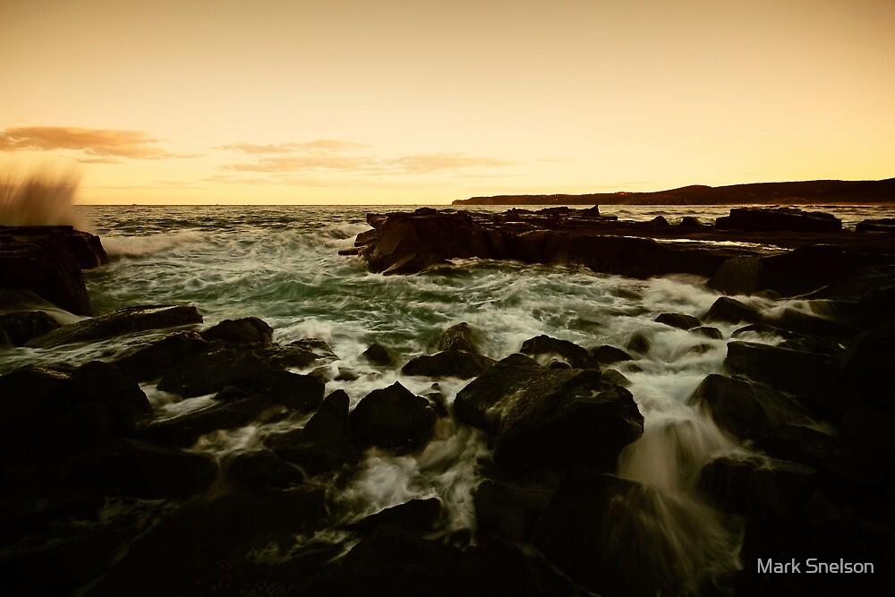 Burwood Rocks 5 by Mark Snelson