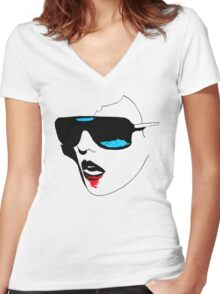I killed the War Women's Fitted V-Neck T-Shirt