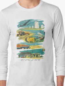 Retro Golden Fleece Long Sleeve T-Shirt