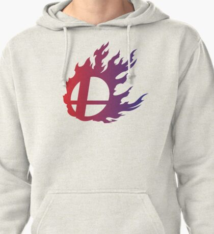 Super Smash Bros. Flame Pullover Hoodie
