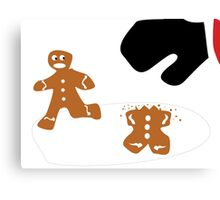 Every Gingerbread Man For Himself! Canvas Print