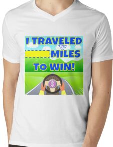 TV Game Show - TPIR (The Price Is...)Miles To Win Mens V-Neck T-Shirt