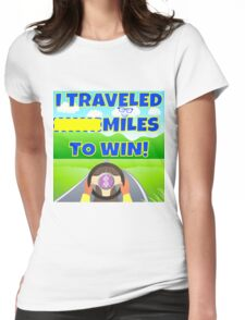 TV Game Show - TPIR (The Price Is...)Miles To Win Womens Fitted T-Shirt