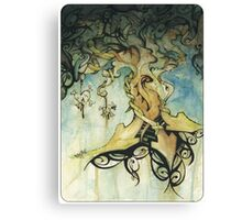 organic progression Canvas Print