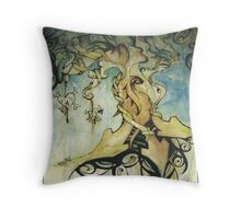 organic progression Throw Pillow
