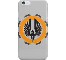 DarkHorse Design Logo Orange iPhone Case/Skin