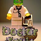 Doctor Toxic with Chainsaw, Custom Minifigure by Chillee