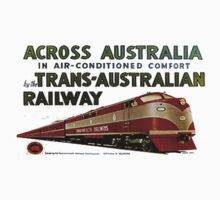 Retro Comm Rails Poster by xe351c
