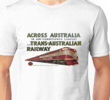 Retro Comm Rails Poster Unisex T-Shirt