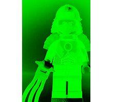 TMNT Teenage Mutant Ninja Turtles Master Shredder Custom Minifigure Customize My Minifig Photographic Print