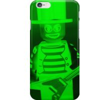Guitarist Custom Minifigure with Guitar iPhone Case/Skin