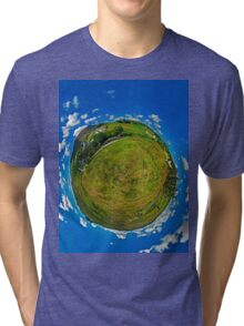 SlieveLeague from the Banks of the Glen River, near Carrick Tri-blend T-Shirt