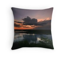 Mopani Sunset Throw Pillow