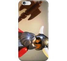 Viking Warrior with Custom Battle Axe iPhone Case/Skin