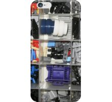 Brick Parts Tray iPhone Case/Skin