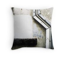 Drainpipe Throw Pillow