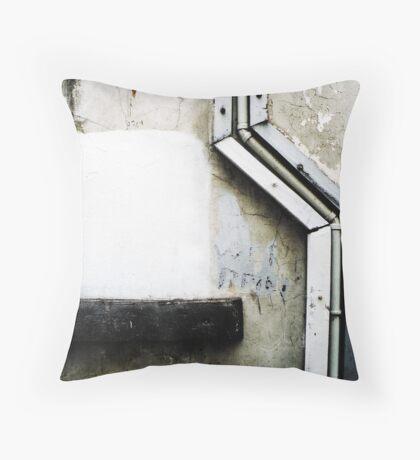 Drainpipe Throw Pillow