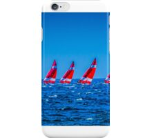 Painted ships against a painted sky... iPhone Case/Skin